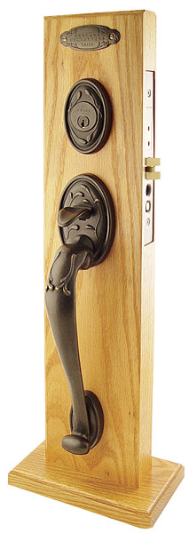 Emtek Naples OS MB Mortise Handleset