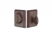 Emtek Bronze Rose3 DB Deadbolt