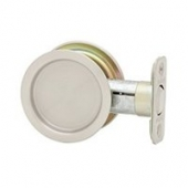 Pocket Door Lock Round Passage US15