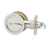 Pocket Door Lock Round Privacy US15