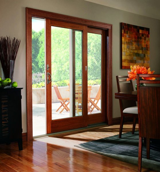 Janss lumber exterior doors for French gliding patio doors