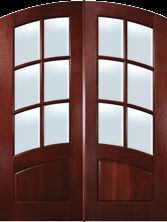 Glasscraft 6 Lite Double with Curved Muntin Bars