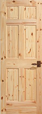 Stallion Knotty Pine 6-Panel
