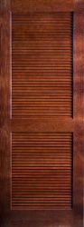 Woodgrain 730 Full Louvered
