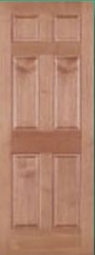 American Hardwoods 6-Panel Cherry