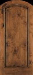 JeldWen Arch Topped 1-Panel Wood
