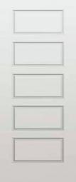 Masonite Riverside 5-Panel Smooth