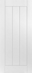 Masonite Saddlebrook 1-Panel Planked Smooth