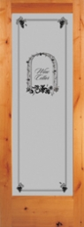 Woodgrain 653 Wine Celler Etched