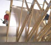 OSB Radiant Barrier Sheathing