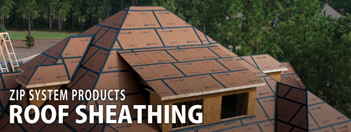 Zip System Roof Sheathing