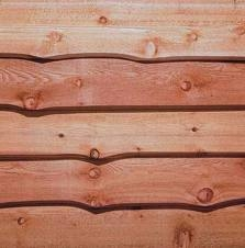 Wavy Cedar Bevel Siding