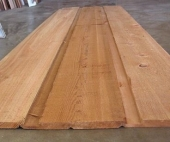 1x8 Channel Rustic Red Cedar Siding--Standard and Better