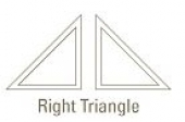 shapes right triangle