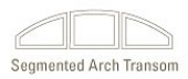 shapes segmented arch transom