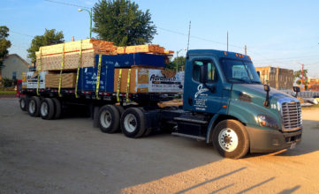 Affordable Lumber Delivery, Jobsite Delivery,